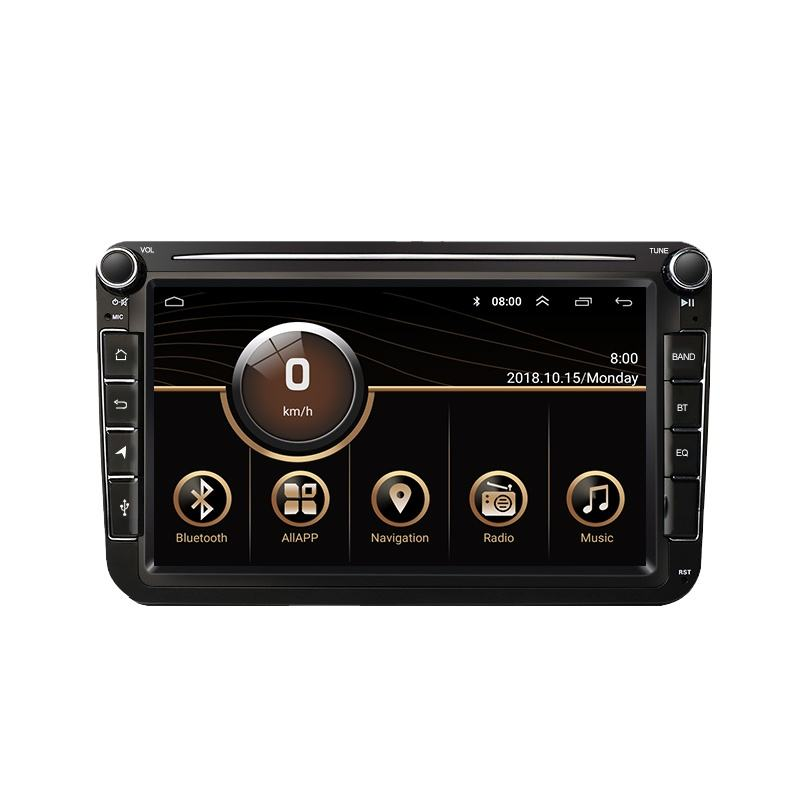8 zoll High-end-Android 10 4G + 64G 8 core Auto GPS Navigation <span class=keywords><strong>gebaut</strong></span>-in drahtlose Carplay DSP mit Split screen funktion für <span class=keywords><strong>VW</strong></span>