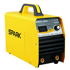 High quality brass stainless steel pipe arc welding machine inverter soldadora multi process arc/mma 200 inverter welder