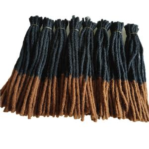Cheap 15/25/50CM Long Soft Crochet Dreads Locks Braids Styles Hair Weave Synthetic Dreadlocks Hair Extensions