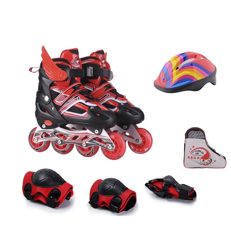 Outdoor Entertainment Equipment High Quality Durable Fashion Flashing Roller Skates Shoes for Children