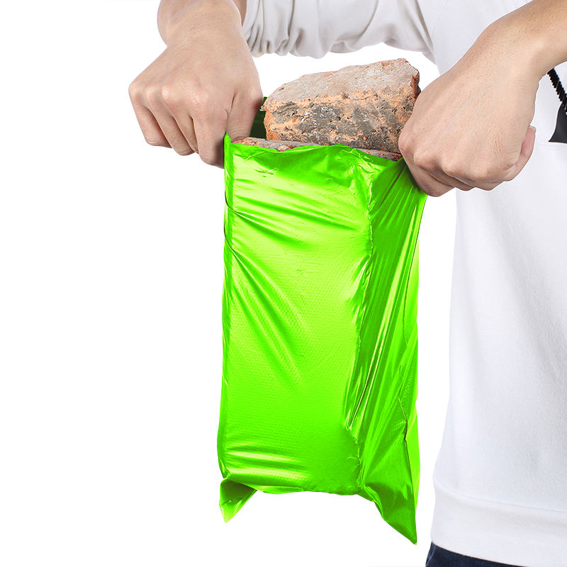 High quality mail poly foam shipping green express bags