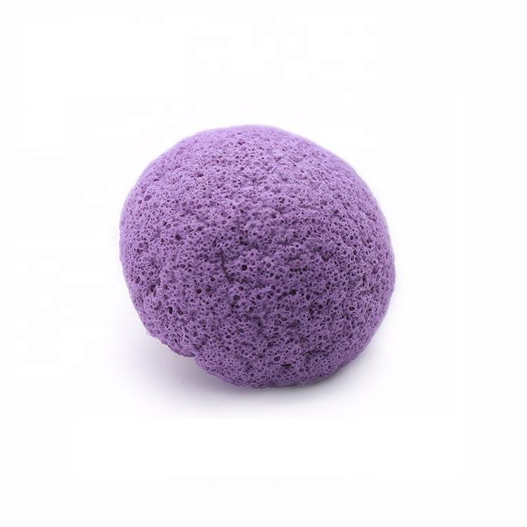 K001 Best quality natural organic konjac sponge for face