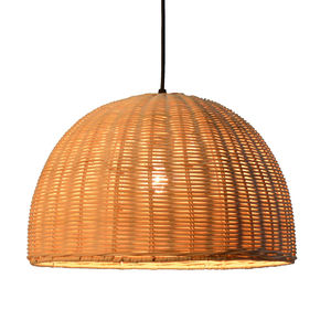 Decorative industrial vintage modern retro rattan wicker hanging & pendant lamp