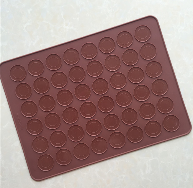 Eco Friendly Freezeable Kitchen Silicone Macaroons Cake Mould Baking Mat