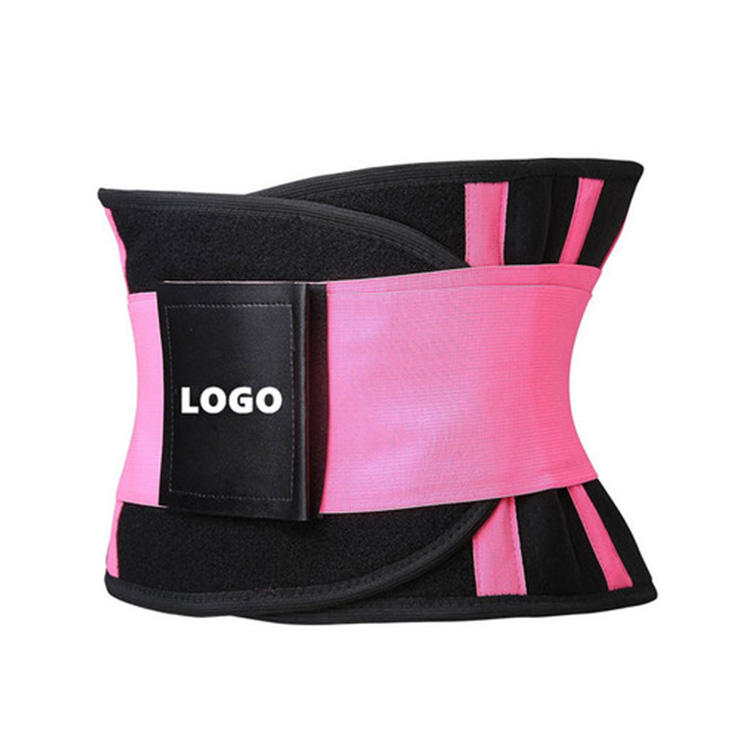 Hot New Products Private Label Hourglass Body Shaper Form Fit Adjustable Neoprene Back Belt Waist Trimmer Belt