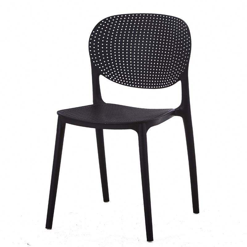 National wholesale high quality modern style solid restaurant furniture pp plastic dining chair