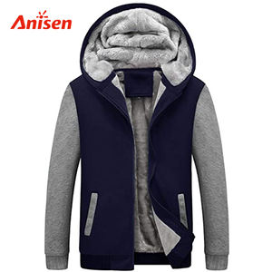 outdoor thick fleece warm keeper wholesale boutique custom Sherpa lined plus size winter jacket