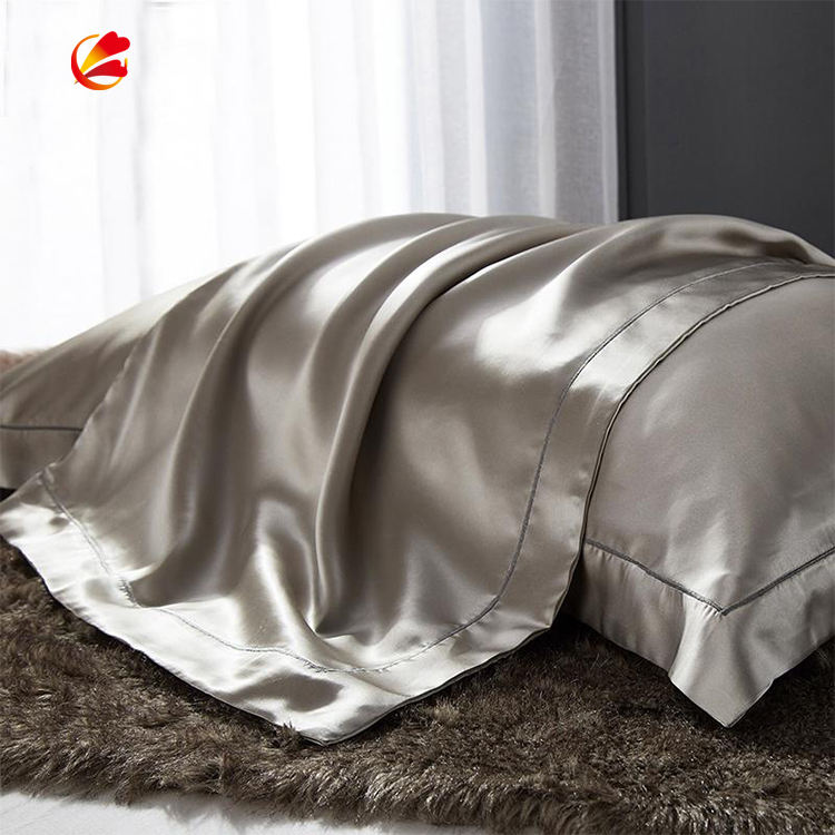 Wholesale artificial silk pillowcases soft satin pillowcase silk pillow case