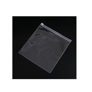PVC flat opening zipper bag variety specification size spot goods translucent frosted zip bags ziplock