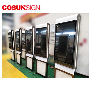 Display Outdoor Layar Perangkat Lunak Kios ICD Digital Signage Media Player
