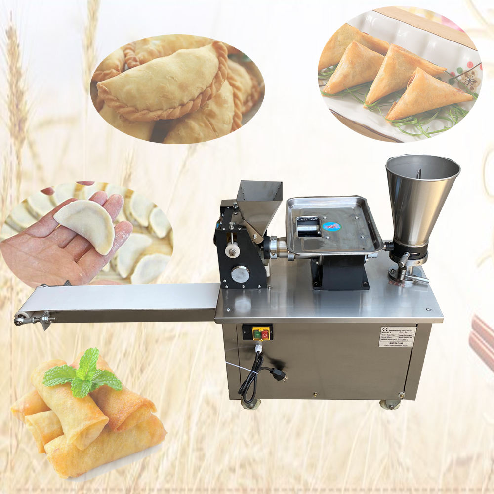 2020 factory price automatic samosa making machine/dumpling machine/spring roll machine