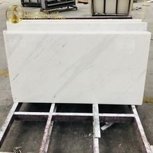 Better Price Bianco Sivec Lowes Polished Marble Tile For Residence Decoration