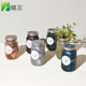 Graphic Customization [ Garden Decor ] New Release Non Gmo Herb Plant DIY Natural Garden Jar Herb Kit For Decor