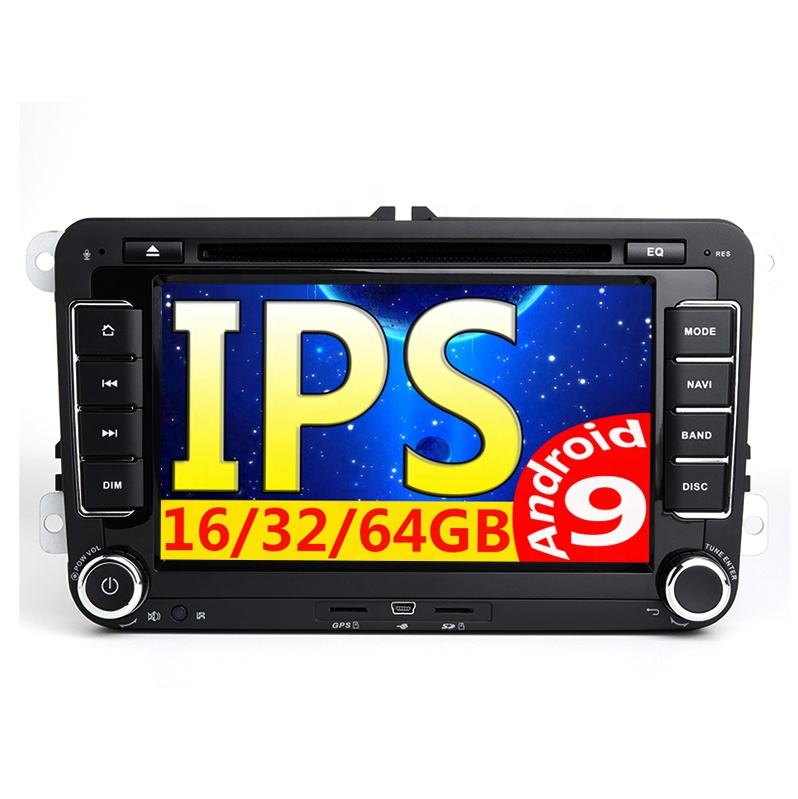 Android 7 ''2Din GPS Auto MP5 Multimedia Video Player Auto Radio Auto Radio Stereo Audio Für VW/Skoda/ passat/Golf/Poloc autoradio