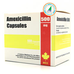 western  medicine Amoxicillin Capcsules Packing made in China