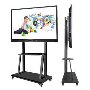 55 65 75 86 inch interactive whiteboard pen ir led board lcd touch screen
