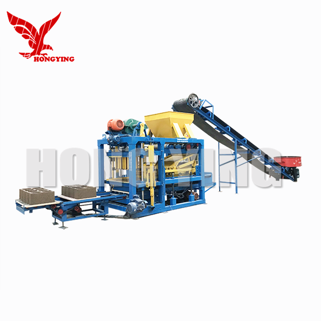 QT4-20 Full Automatic Hollow Cinder Block Brick Making Machine Manufacturers In Dubai