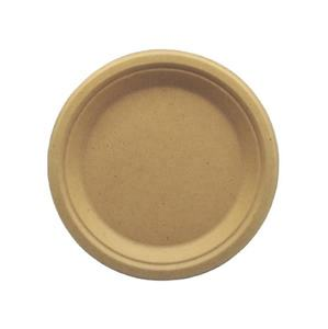 Biodegradable 9 Inch Plates 9 Sugarcane Unbleached Bagasse Plate