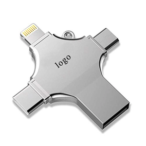 2019 New Hot High Speed 4 In 1 Otg Usb Flash Drive Usb2.0 Usb3.0 For Android Phone Mobile Phone Computer