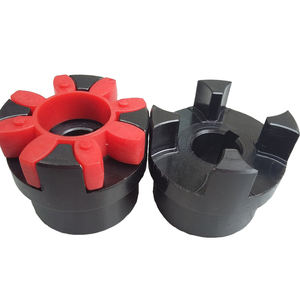 Rubber six square claw coupling elements