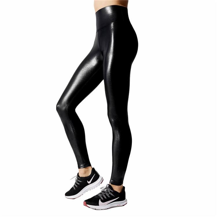 High Waist Yoga Pants Compression Workout Leggings for Women Shining Yoga leggings