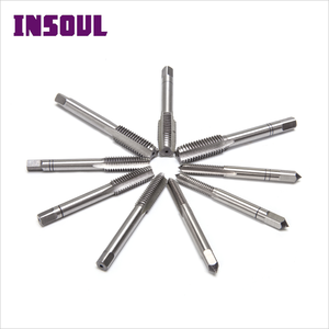 INSOUL หยาบและ Fine PITCH DIN351 Hand TAP SPIRAL Pointed HSS Screw TAPS
