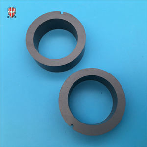 high hardness RS SiC silicon carbide ceramic ring cylinder