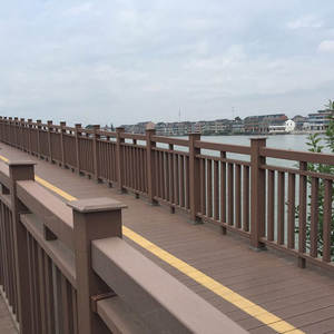 Hot selling wpc outdoor artificial capped wpc decking floor