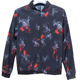 OEM casual mens clothing spring autumn coats China floral print windbreak plus size jacket high quality