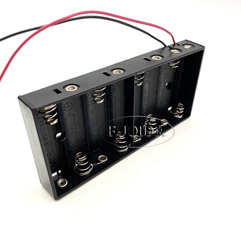 Professional Manufacturer Battery Holders Switch 8 Aa 12v Batteries Holder Case