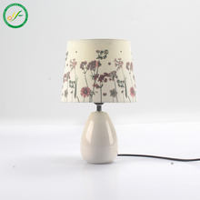modern Digital printing home decor  pattern beside ceramic table lamp light and lighting lamp