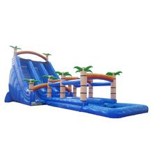 3year warranty  Cheap COCO tree magic inflatable mega water pool slides inflatable water slide for kids and adults