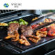 Ptfe Mat Cooking Ptfe Grill Cooking Mat Reusble PTFE BBQ Grill Mat Black Non-stick BBQ Cooking Mat Heat Resistant Oven Liner