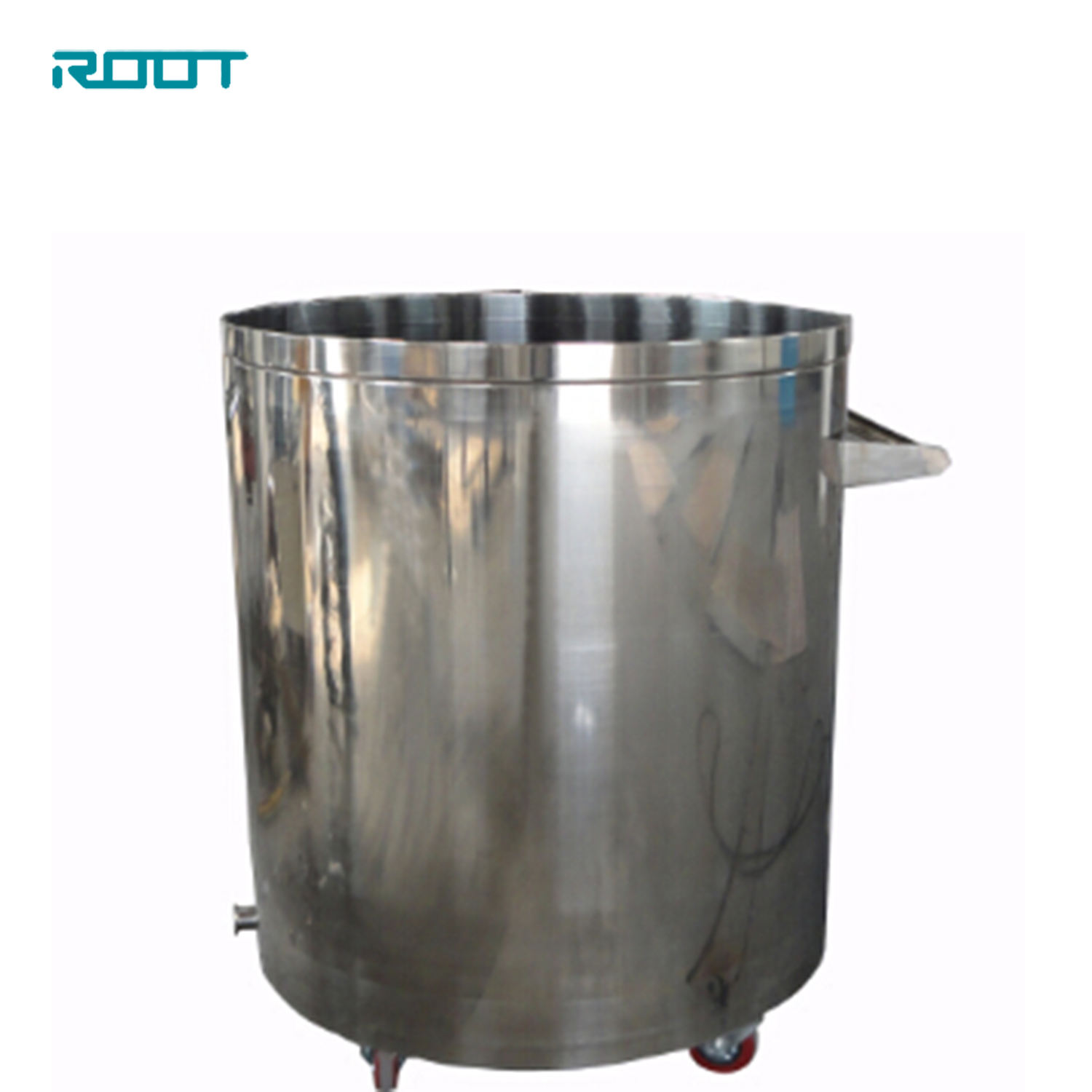 200L movable mixing tank Customized stainless steel mixer / vessel