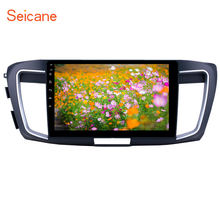 10.1 inch Android 10.0 GPS Navigation Radio for 2013 Honda Accord 9 High version with HD Touchscreen Bluetooth USB support Carpl