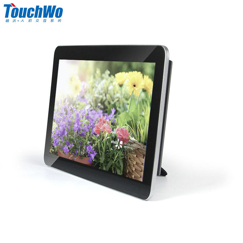 Full HD Aluminum housing 13 inch RJ45 android tablet without battery