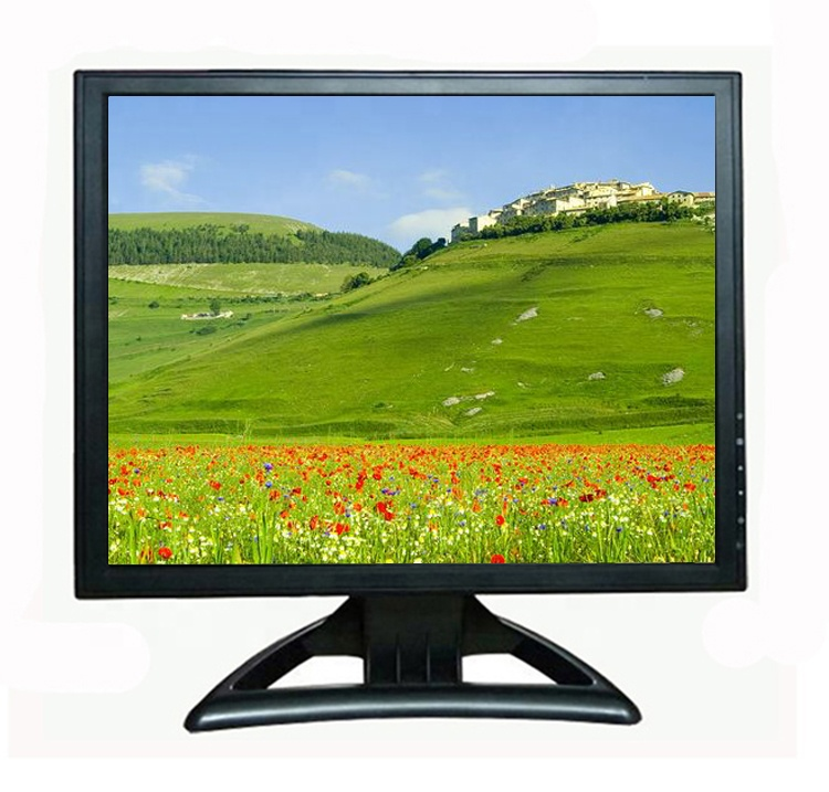 Plastic case 15 inch lcd monitor led new arrival computer monitor