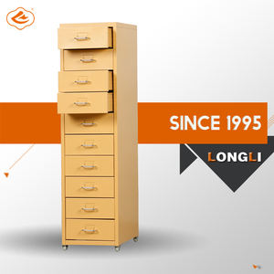 NEW PRODUCT hot sale steel furniture KD structure many small drawers cabinet mobile metal cabinet