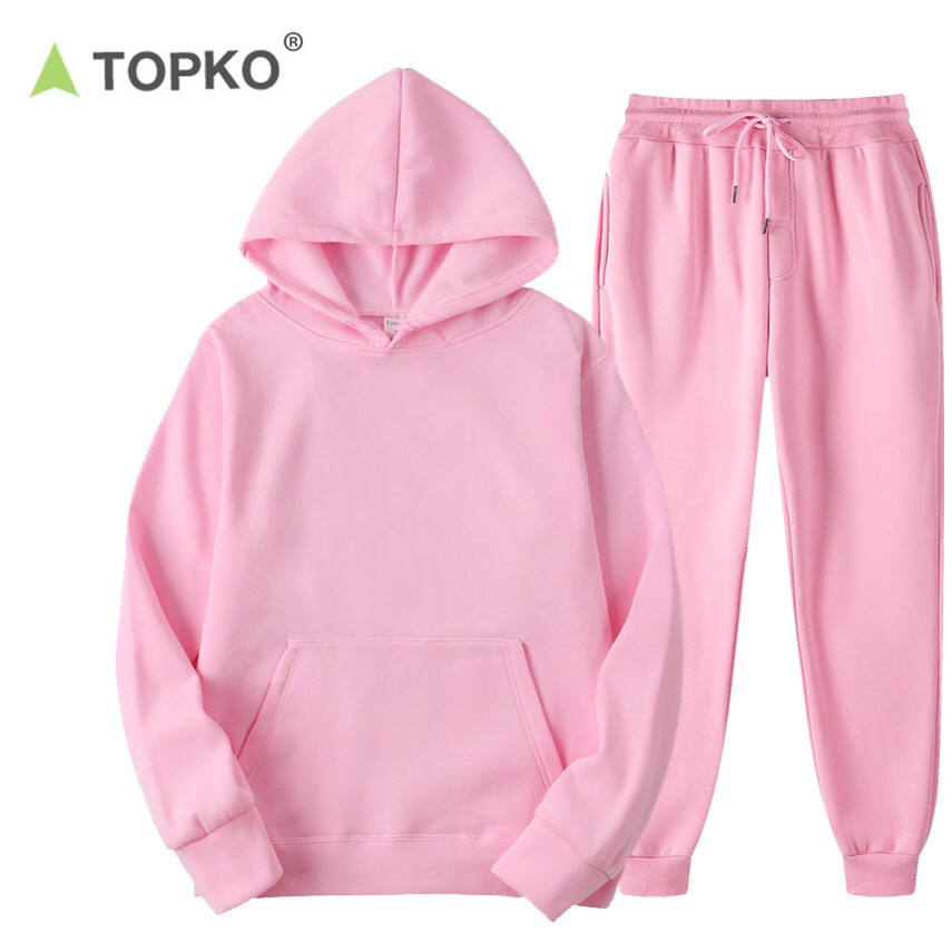 TOPKO High Quality Wholesale custom logo tracksuit sportswear tracksuits for women