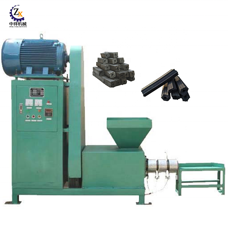 Price plant small coconut activated jute sticks bamboo bbq continuous rice husk sawdust briquette wood charcoal making machine