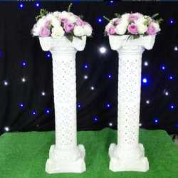 Hollow Roman Column for wedding decoration