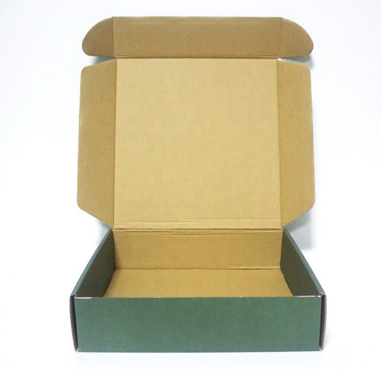 Logo Printed Kraft Recycled E Commerce Hard Corrugated Tuck Top Shipping Mail Box For Cloth box