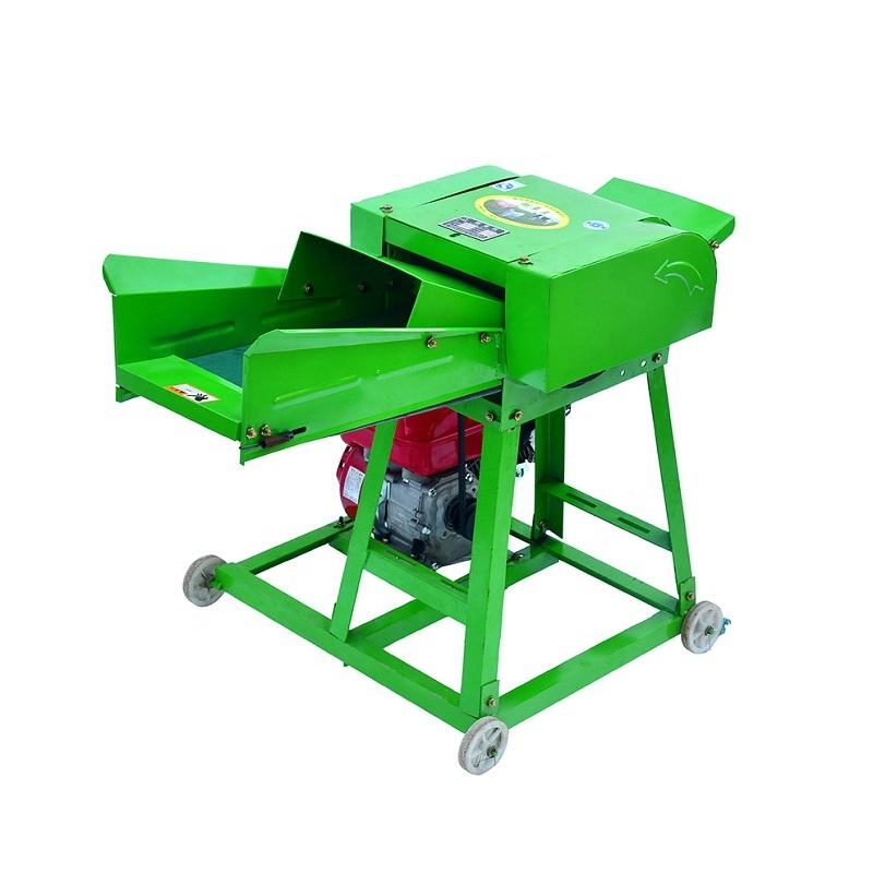 Factory directly wet and hay electronic grass animal fodder chopper