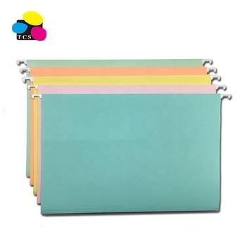 Factory Price High Quality Printing Custom Fc Size Office Stationery Color Suspension/Hanging Paper File Folder