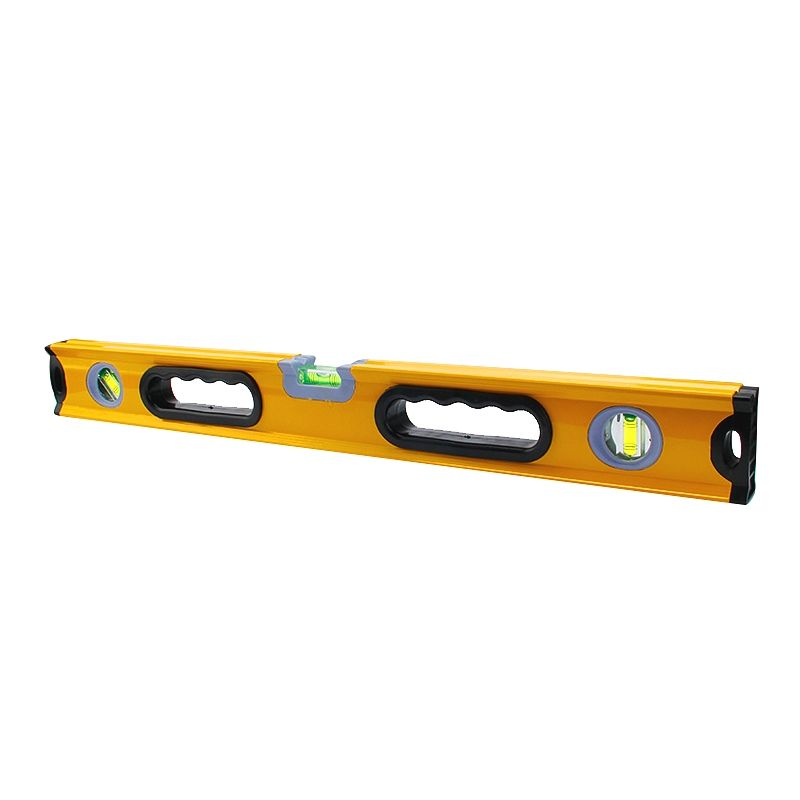 Wholesale alloy aluminium spirit level 300-1500MM High accuracy heavy duty for horizontal measurement construction hardware tool
