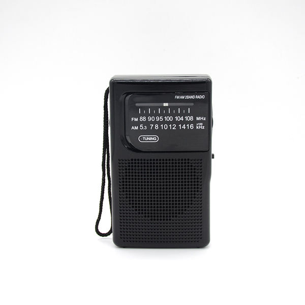 Pocket AM/FM Radio Với Rechareble Pin