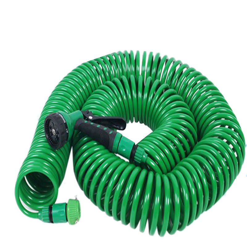 25ft <span class=keywords><strong>50ft</strong></span> 75ft 100ft Vườn Nước Hose <span class=keywords><strong>Cuộn</strong></span> <span class=keywords><strong>Dây</strong></span> Vườn Hose PU Brass Linh Hoạt Coiled Air Hose