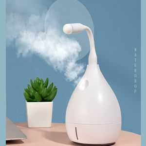 USB Air Humidifier Revitalizer Travel Desk Mist Powerful Ultrasonic Humidifier Bottle