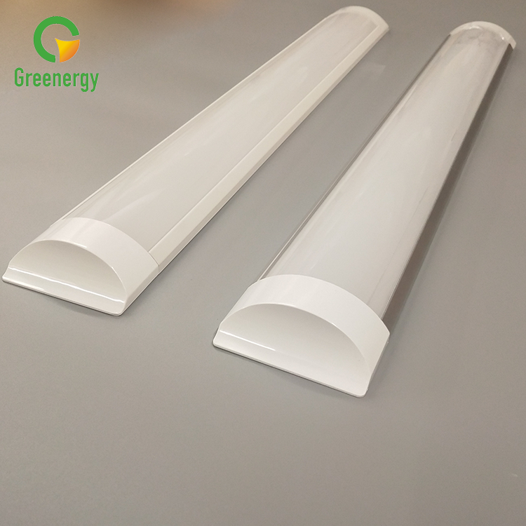 2ft 4ft 5ft LED Linear Light 80lm/W สีขาว batten LED LIGHT