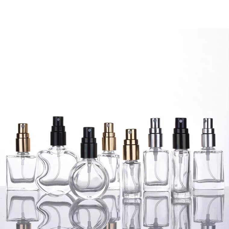 Amber Perfume Atomizer Bottles Refillable Travel Size Perfume Bottles Perfume Atomizer Fine Mist Spray Refillable Empty Clear